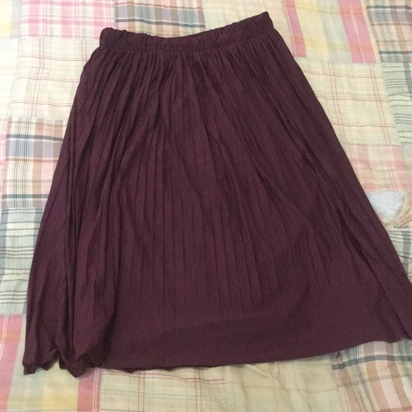 40a1543ef Xhilaration Skirts | For Target Burgundy Skirt Size L | Poshmark